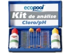 Estojo analisador de cloro total e ph